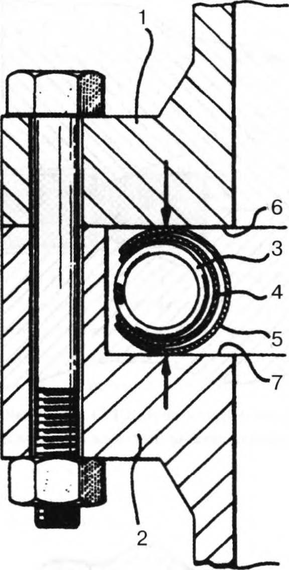 уплотнение helico flex