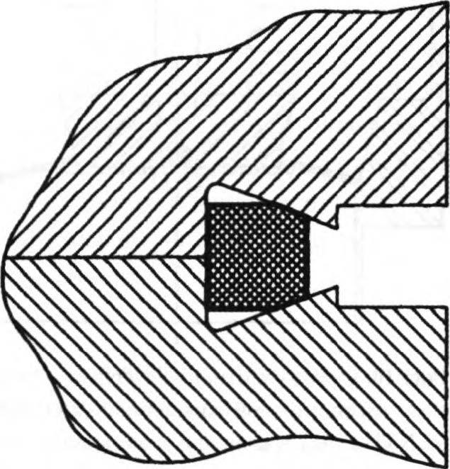 квадратная прокладка
