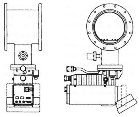 крионасос с конденсирующим кольцом