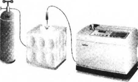 Течеискание методом щупа